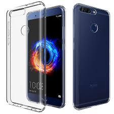 huawei honor 8 pro. olixar ultra-thin huawei honor 8 pro gel case - crystal clear