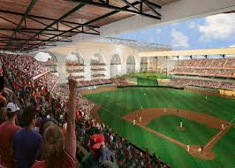 Rangers New Ballpark Design Hks Knocks One Out The Park With Us 1bn Texas Rangers