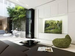 small modern living room interior lighting