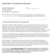Sample Subcontractor Agreement Beauteous Simple Subcontractor Agreement Contract Template Free Contractor