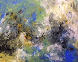 abstracts in oil and cold wax medium with addren doss