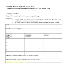Personal Action Plan Template Mesmerizing Personal Development Action Plan Template Baniocha