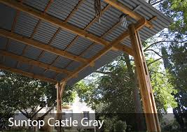 weather protection shade for outdoor living or storage