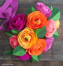 Image result for paper flower bouquet handmade for valentines