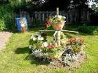Сад своими руками клумбы фото101