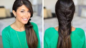 Luxy Hair Style faux fishtail hair tutorial youtube 6585 by wearticles.com