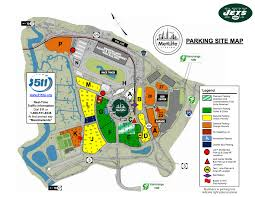 Metlife Stadium Seating Chart Bts Metlife Stadium Parking Maps Permits Tips