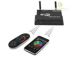 smartphone lighting control. WF100 WiFi RGB LED Controller Control Lights With Smartphone IOS \u0026 Android Device - Kiwi Lighting