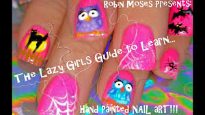 The Lazy Girls Guide to learning Hand Painted Nail Art! Robin ...