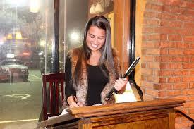 Restaurant Hostess Hostess Picture Of Vazzys Brick Oven Restaurant