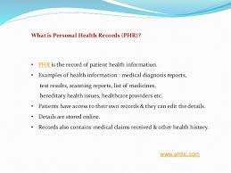 Accurate And Secure Personal Health Records In Tampa Florida Usa
