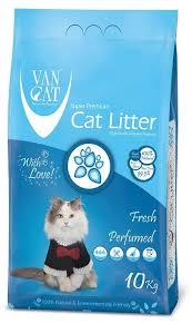 <b>Наполнитель</b> комкующийся для кошек <b>Van Cat Fresh</b> без пыли с ...