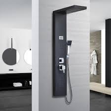 Schwarz Edelstahl Duschpaneel Duschsäule Kaufen Auf Ricardoch
