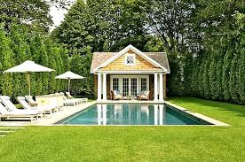Modest Design Small Pool House Adorable Images About Pool
