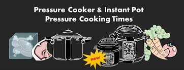 Pressure Cooker Cooking Chart Instant Pot Stove Top Electric Pressure Cooker Cooking