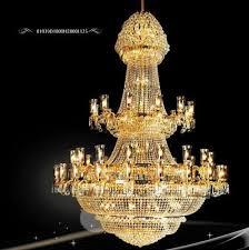 antique gold chandelier light