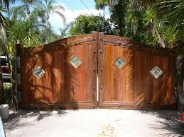 Small Picture Gate Solid Wood Gates Backyard Gate Ideas Wooden Gate Designs
