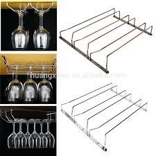 hanging wine glass rack under cabinet stemware hanging wine glass rack hanging wine glass rack