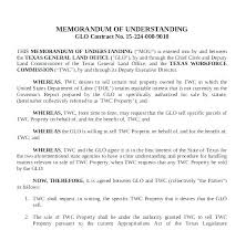Letter Of Understanding Template Word Sample Memorandum Agreement Of Understanding Template Mutual