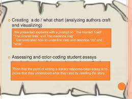 teaching secondary english learners to understand analyze and write 12