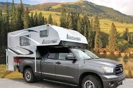 pickup truck camper actusre us livin39 lite campers and toy haulers rv magazine pickup truck camper angler pop up