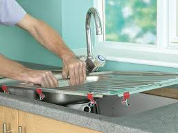 Replacing A Kitchen Sink Faucet How To Install A Kitchen Sink In A Laminate Or Wood Countertop