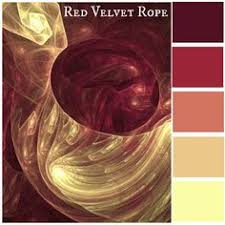 red velvet rope keywords color swatches color combinations bold bright bright colorful home