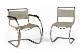 lilly reich furniture. \u0027mr20\u0027 Armchair And \u0027mr10\u0027 Sidechair (2 Works) By Lilly Reich Furniture