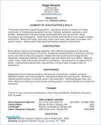 Heavy Equipment Operator Resume Inspiration ☜ 48 Process Operator Resume