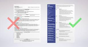Bartender Resume Sample Complete Guide Examples New For Career