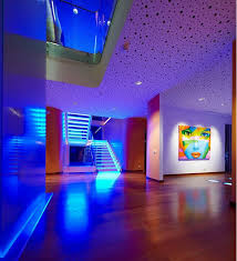 mood lighting living room. Stair Led Strip Light And Ceiling Recessed For Mood Lighting Living Room