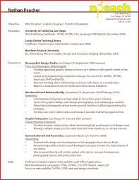 Web Developer Resume Sample Resume Template For Web Developer Best Of Web Developer Resume 58
