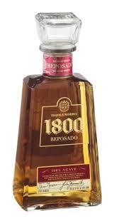 1800 resposado tequila reserva