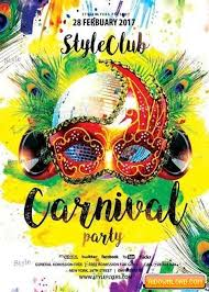 Free Carnival Poster Template Carnival Party V16 Psd Flyer Template Free Download Free