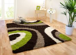 details about med extra large dark chocolate brown lime green beige cream ivory gy rug
