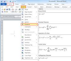 ms word download for free where is the equation in microsoft word 2007 2010 2013 and 2016