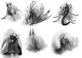 Sketches Animal Animal Sketches By Wolflich On Deviantart