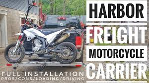 harbor freight motorcycle carrier