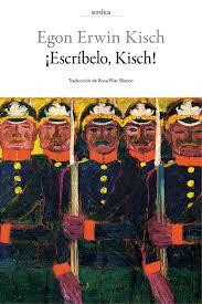 Resultado de imagen para egon erwin kisch en las trincheras pdf