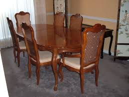used dining room furniture for gauteng suites drexel french provincial double leaf table chairs and dma bench chair with fabric height sheet grey wood dark