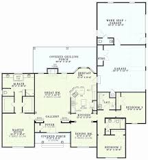 one story house plans with bedrooms on same side new ranch house plans american design style