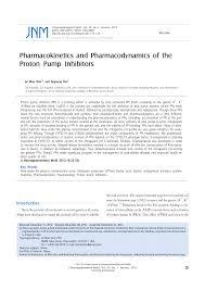 Pdf Pharmacokinetics And Pharmacodynamics Of The Proton