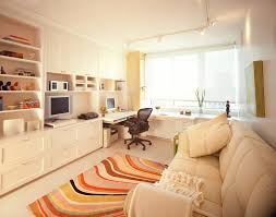 upper east side totally tailored urban oasis trendy home office photo in new york with a black middot office