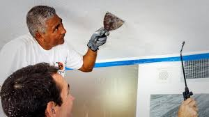 remove a popcorn ceiling in six steps