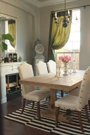 upholstered cane back dining chairs with nailhead trim