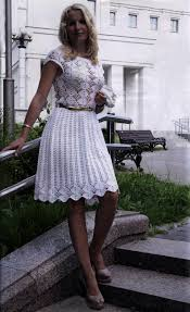 Crochet Wedding Dress Pattern Cool Crochet Dress PATTERN Crochet Wedding Dress Pattern Cocktail Dress
