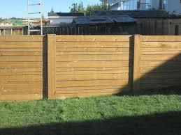 horizontal wood fence gate. Fences - Horizontal Slat Cedar Fence Wood Gate
