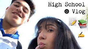 HIGH SCHOOL VLOG   Ashley Barajas - YouTube