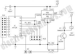remote control switch circuit diagram pdf remote rf receiver circuit diagram the wiring diagram on remote control switch circuit diagram pdf