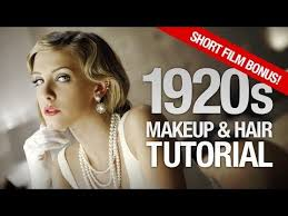 1920s hairstyle tutorial